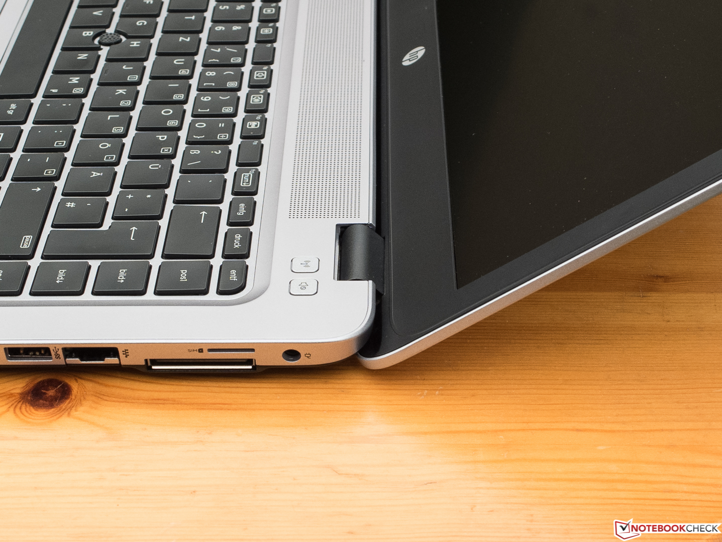 Kısa inceleme: HP EliteBook 840 G3 Notebook - Notebookcheck