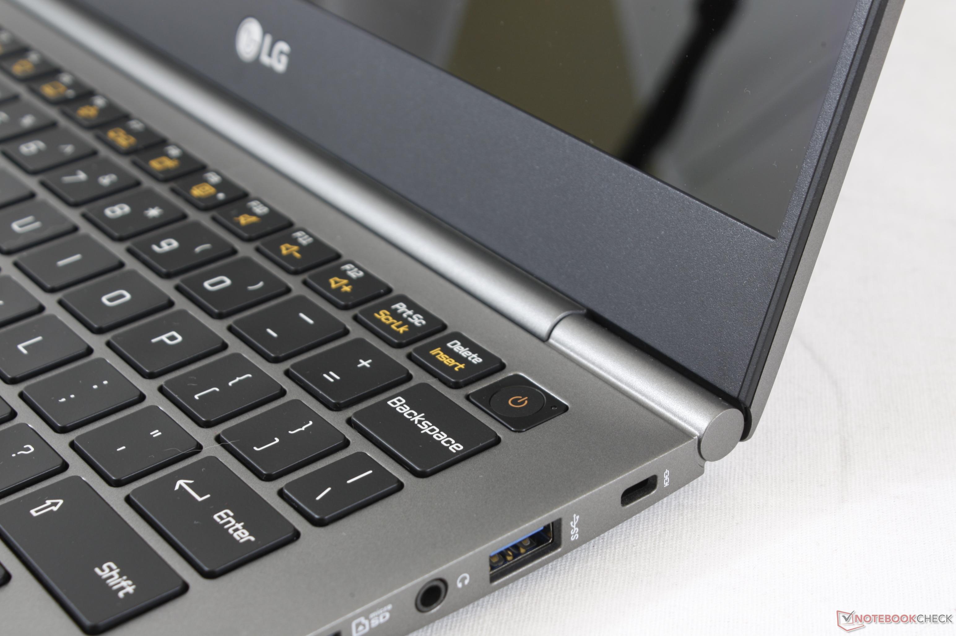 Kısa inceleme: LG Gram 13Z980-A (i5-8250U) Laptop - Notebookcheck-tr com
