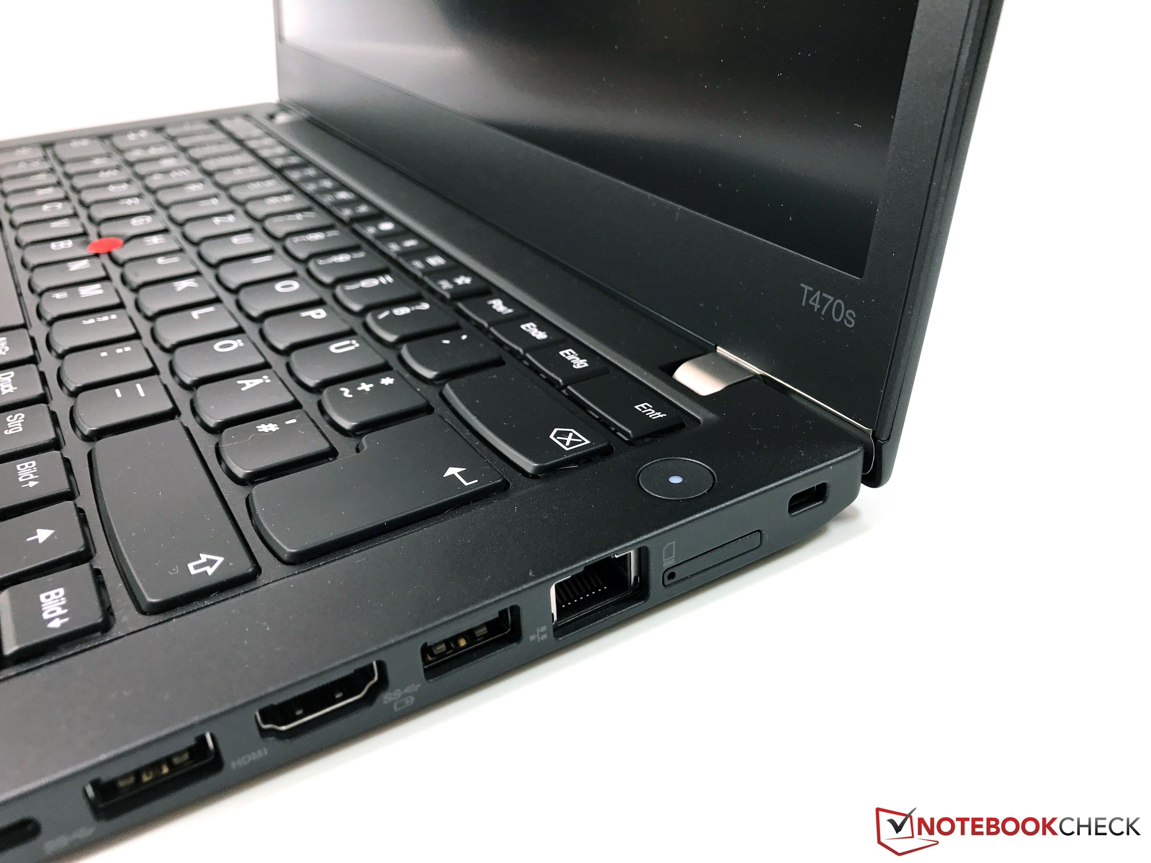 Kısa inceleme: Lenovo ThinkPad T470s (Core i7, WQHD) Laptop