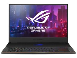 In review: Asus Zephyrus S17 GX701LXS. Test unit provided by Asus Germany.
