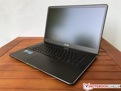 In review: Asus ZenBook Pro UX550VD. Test model courtesy of Campuspoint.