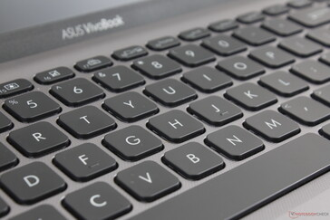 Main QWERTY keys, Space Key, and Enter key have good feedback with relatively quiet clatter