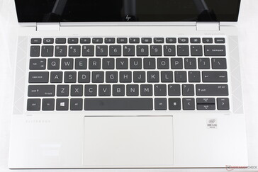 Same size keys as on the EliteBook x360 1030 G4, but some functions keys have been swapped for more useful actions