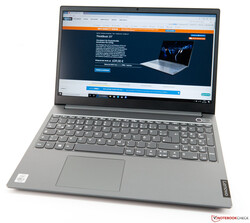 The Lenovo ThinkBook 15 laptop review. Test device courtesy of Lenovo Germany.
