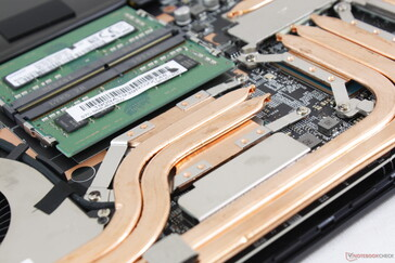 SODIMM slots sits next to the CPU