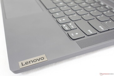 Lenovo logo mimics the professional look of the ThinkBook series