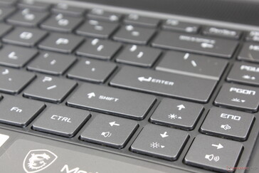 Full-size Arrow keys unlike on most other Ultrabooks