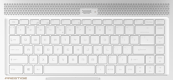MSI P65 8RF Creator keyboard (source: MSI)