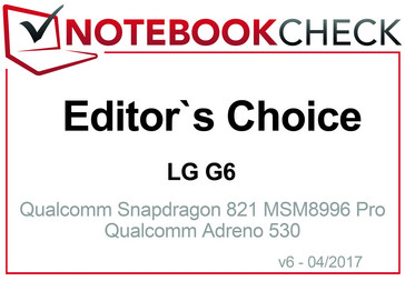 Editor's Choice in April 2017: LG G6