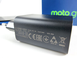 30-watt Motorola Moto G9 Plus power supply
