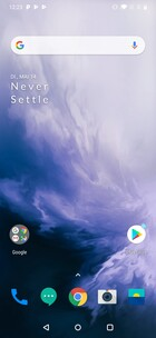 OxygenOS default home screen