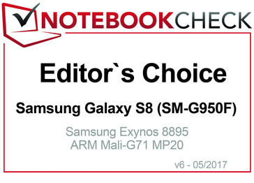 Editor's Choice in May 2017: Samsung Galaxy S8