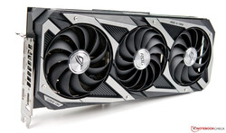 The Asus GeForce RTX 3080 ROG Strix Gaming OC - provided by Asus Germany