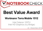 Best Value Award in December 2013: Wortmann Terra Mobile 1512