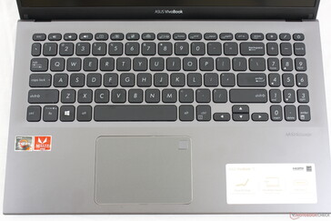 Same layout as the VivoBook S532