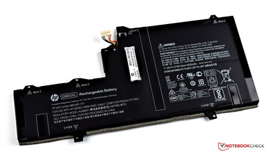 Battery once removed