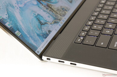 One of the highest screen-to-body ratios we've seen on any 17-inch laptop